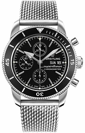Breitling Superocean Heritage Ii Chronograph Black/Steel Ø44 mm A13313121B1A1