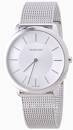 Calvin Klein Minimal Silver colored/Steel Ø40 mm K3M21126