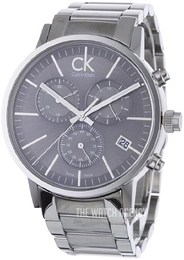 Calvin Klein Minimal Silver colored/Steel Ø42 mm K7627161