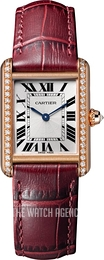Cartier Tank Louis Silver colored/Leather WJTA0014