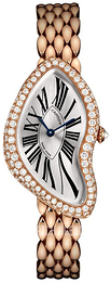 Cartier Crash Silver colored/18 carat rose gold WL420047