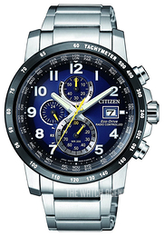 Citizen Radio Controlled Blue/Steel Ø43 mm AT8124-91L