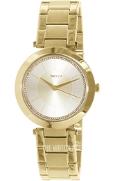 DKNY Dress Yellow gold toned/Yellow gold toned steel Ø37 mm NY2286