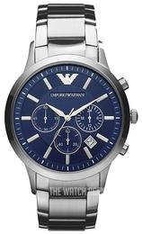 858415fb098c Emporio Armani Renato Blue Steel Ø43 mm AR2448