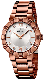 Festina Mademoiselle Silver colored/Rose gold colored steel Ø35 mm F16800-3