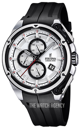 Festina Sport Silver colored/Rubber Ø47 mm F16882-1