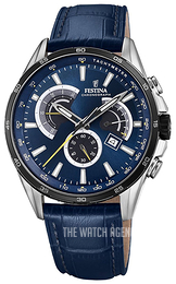 Festina Blue/Leather Ø42 mm F20201-3
