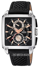 Festina Black/Leather F20265-4