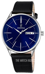 Festina Dress Blue/Leather Ø42 mm F6837-3