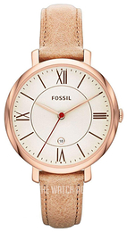 Fossil Dress Gold toned/Leather Ø36 mm ES3487