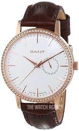 Gant Park Hill II White/Leather Ø38 mm W109217