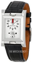 6bbbda735fc Gucci G- Frame White Leather YA111304