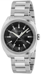 02e6a607a60 Gucci G- Frame Black Steel Ø41.1 mm YA142301
