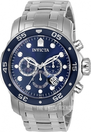 Invicta Pro Diver Blue/Steel Ø48 mm 0070