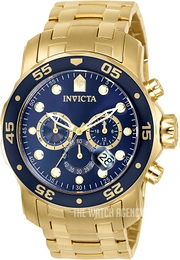 Invicta Pro Diver Blue/Steel Ø48 mm 0073