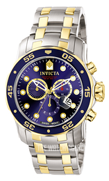 Invicta Pro Diver Blue/Steel Ø48 mm 0077