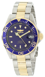 Invicta Pro Diver Mako Blue/Yellow gold toned steel Ø40 mm 8928