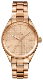 Lacoste Philadelphia Rose gold colored/Rose gold colored steel Ø35 mm 2000899