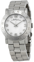 Marc by Marc Jacobs Amy White/Steel Ø36 mm MBM3054