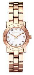 Marc by Marc Jacobs Amy White/Rose gold colored steel Ø26 mm MBM3078