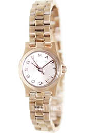 Marc by Marc Jacobs Henry Dinky Rose gold colored/Rose gold colored steel Ø21 mm MBM3200