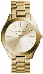 Michael Kors Runway Yellow gold toned/Yellow gold toned steel Ø42 mm MK3179