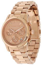 Michael Kors Runway Rose gold colored/Rose gold colored steel Ø38 mm MK5128