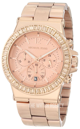Michael Kors Dylan Rose gold colored/Rose gold colored steel Ø43 mm MK5412