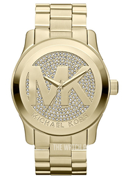 Michael Kors Runway Yellow gold toned/Yellow gold toned steel Ø44 mm MK5706
