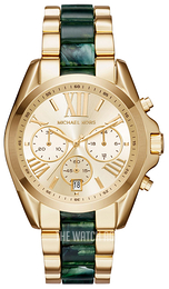Michael Kors Bradshaw Yellow gold toned/Yellow gold toned steel Ø43 mm MK6397