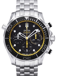 Omega Seamaster Diver 300m Co-Axial Chronograph 44mm Black/Steel Ø44 mm 212.30.44.50.01.002