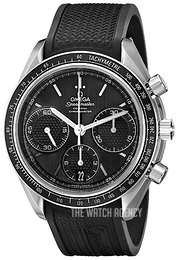 Omega Speedmaster Racing Co-Axial Chronograph 40mm Black/Rubber Ø40 mm 326.32.40.50.01.001
