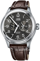 Oris Aviation Grey/Leather Ø44.7 mm 01 690 7735 4063-07 1 22 72FC