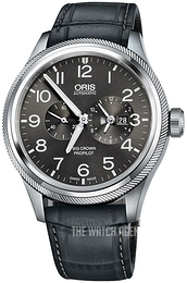 Oris Aviation Grey/Leather Ø44.7 mm 01 690 7735 4063-07 5 22 06FC