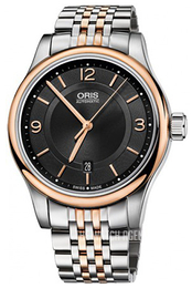 Oris Culture Black/Rose gold colored steel Ø42 mm 01 733 7594 4334-07 8 20 63