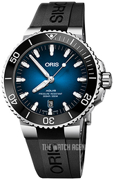 Oris Diving Blue/Rubber Ø43.5 mm 01 733 7730 4185-Set RS