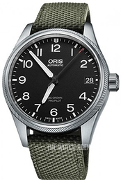 Oris Oris Aviation Black/Textile Ø41 mm 01 751 7697 4164-07 5 20 14FC