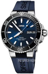 Oris Diving Blue/Rubber Ø45.5 mm 01 752 7733 4135-07 4 24 65EB