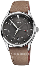 Oris Culture Grey/Leather Ø40 mm 01 755 7742 4053-07 5 21 32FC