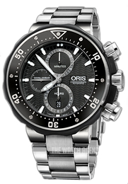 Oris ProDiver Black/Titanium Ø51 mm 01 774 7683 7154-Set