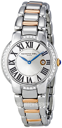 Raymond Weil Jasmine Silver colored/Rose gold colored steel Ø29 mm 5229-S5S-00659