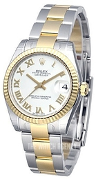 Rolex Datejust 31 White/Steel Ø31 mm 178273-0072