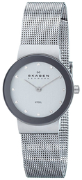 Skagen Freja Silver colored/Steel Ø27 mm 358SSSD