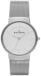 Skagen Nicoline White/Steel Ø32 mm SKW2075