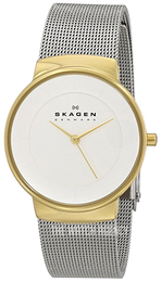 Skagen Nicoline White/Steel Ø32 mm SKW2076