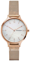 Skagen Anita White/Rose gold colored steel Ø36 mm SKW2633