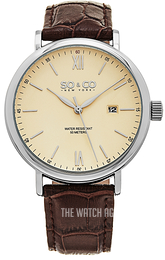 So & Co New York Madison Beige/Leather Ø42 mm 5266L.1