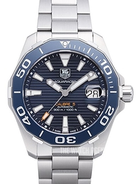 TAG Heuer Aquaracer Blue/Steel Ø41 mm WAY211C.BA0928