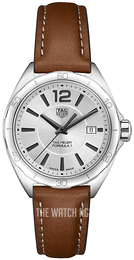 TAG Heuer Formula 1 Ladies Silver colored/Leather Ø32 mm WBJ1411.FC8232