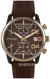 Timecode Brown/Rubber Ø42 mm TC-1019-04
